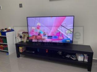 New Samsung Crystal 55 inch Smart Tv+ New TV set