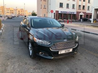 FORD FUSION 2.5L ENGINE 2015 NO 2 OPTION CAR FOR SALE FIXED PRICE AED 23,500