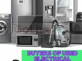 BUYERS OF USED ELECTRICAL APPLIANCES IN PALM JUMEIRAH DUBAI