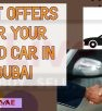 Best offers for your used car in Dubai