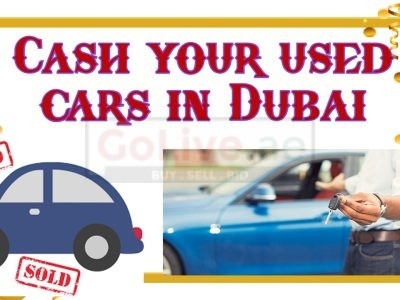 Cash your used cars in Dubai
