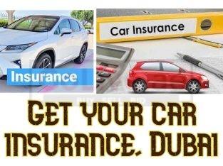 Get your car insurance, Dubai