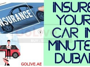 Insure Your Car in Minutes, Dubai