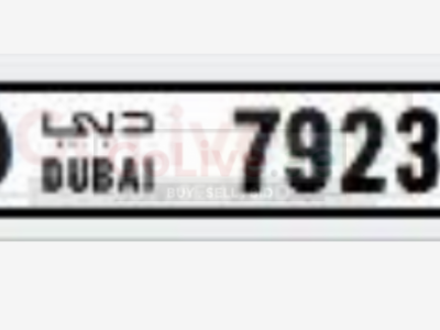 7923 Code O Dubai 4 Didget Number for 5000 AED
