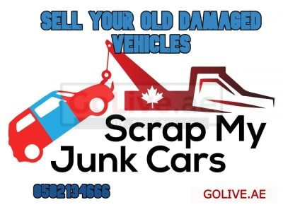 Sell your old damaged vehicles
