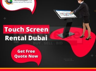 Various Touch Screen Rental Solutions in Dubai