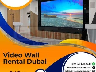 Seamless Video Wall Rental Services Across the UAE