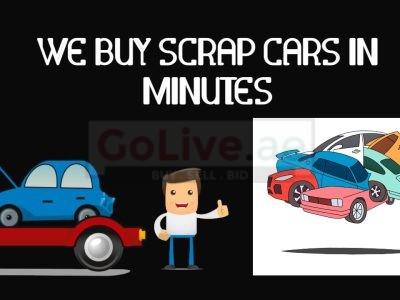 We Buy Scrap Cars in Minutes
