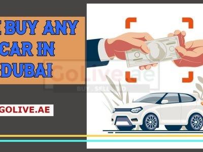 We buy any car in Dubai