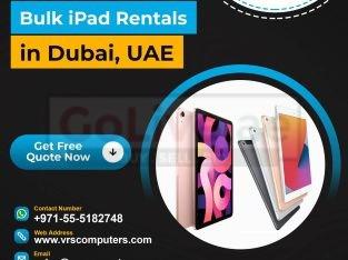 Premium iPad Lease Services in Dubai UAE